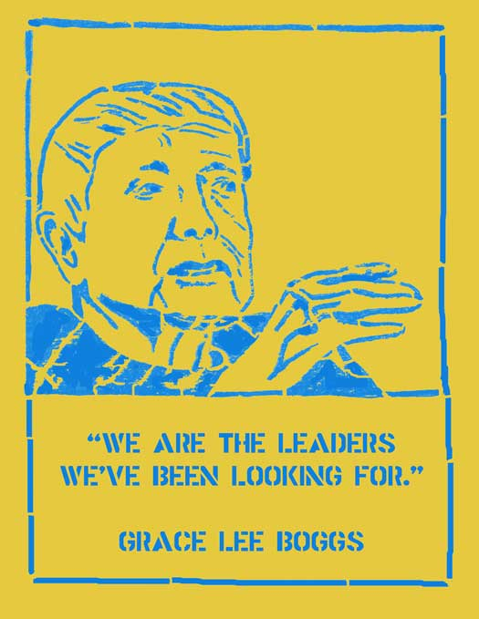 Grace Lee Boggs (yellow)